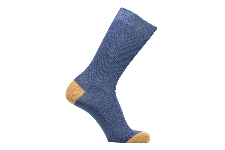Socks & tights BLEUFORÊT Chaussettes Urban à Côtes Color Blue detailed view/ Pair view
