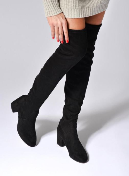 Boots & wellies Jonak Gina Black view from underneath / model view