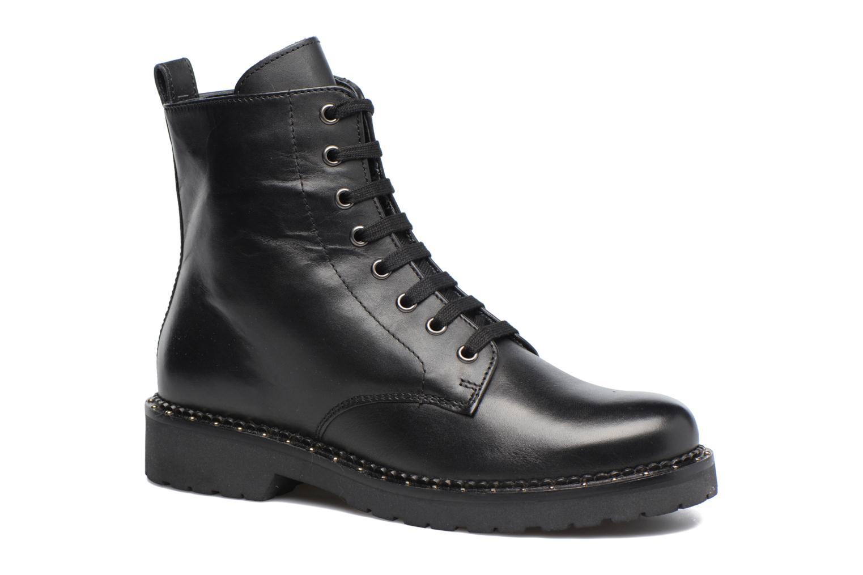 Bottines et boots Jonak Moon Noir vue détail/paire
