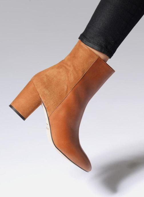 Bottines et boots Jonak 11700 Noir vue bas / vue portée sac