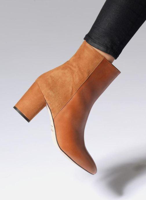 Boots en enkellaarsjes Jonak 11700 Bruin onder