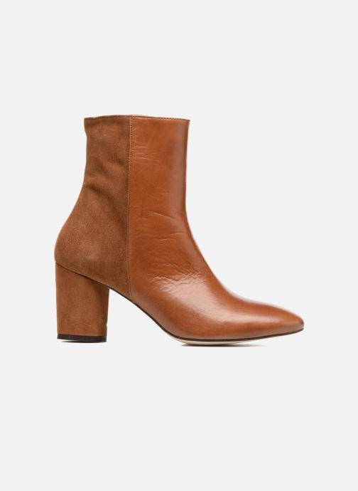 Boots en enkellaarsjes Jonak 11700 Bruin achterkant