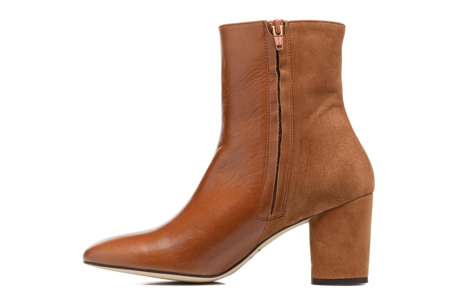 Ankle boots Jonak 11700 Brown front view