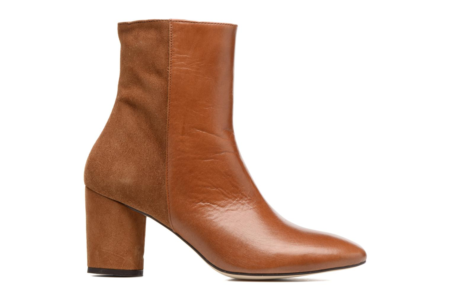 Ankle boots Jonak 11700 Brown back view
