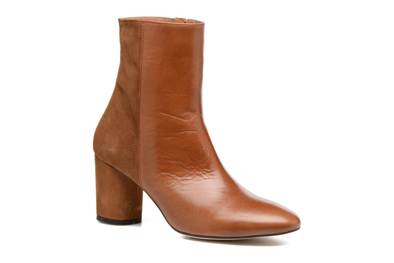 Ankle boots Jonak 11700 Brown detailed view/ Pair view