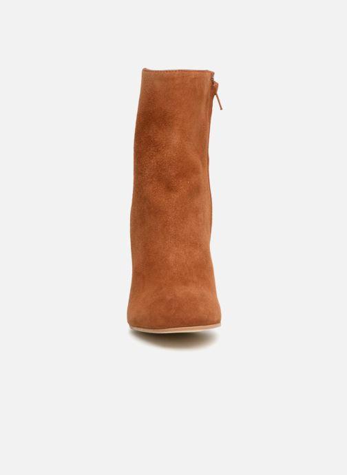 Bottines et boots Jonak Vraca Marron vue portées chaussures