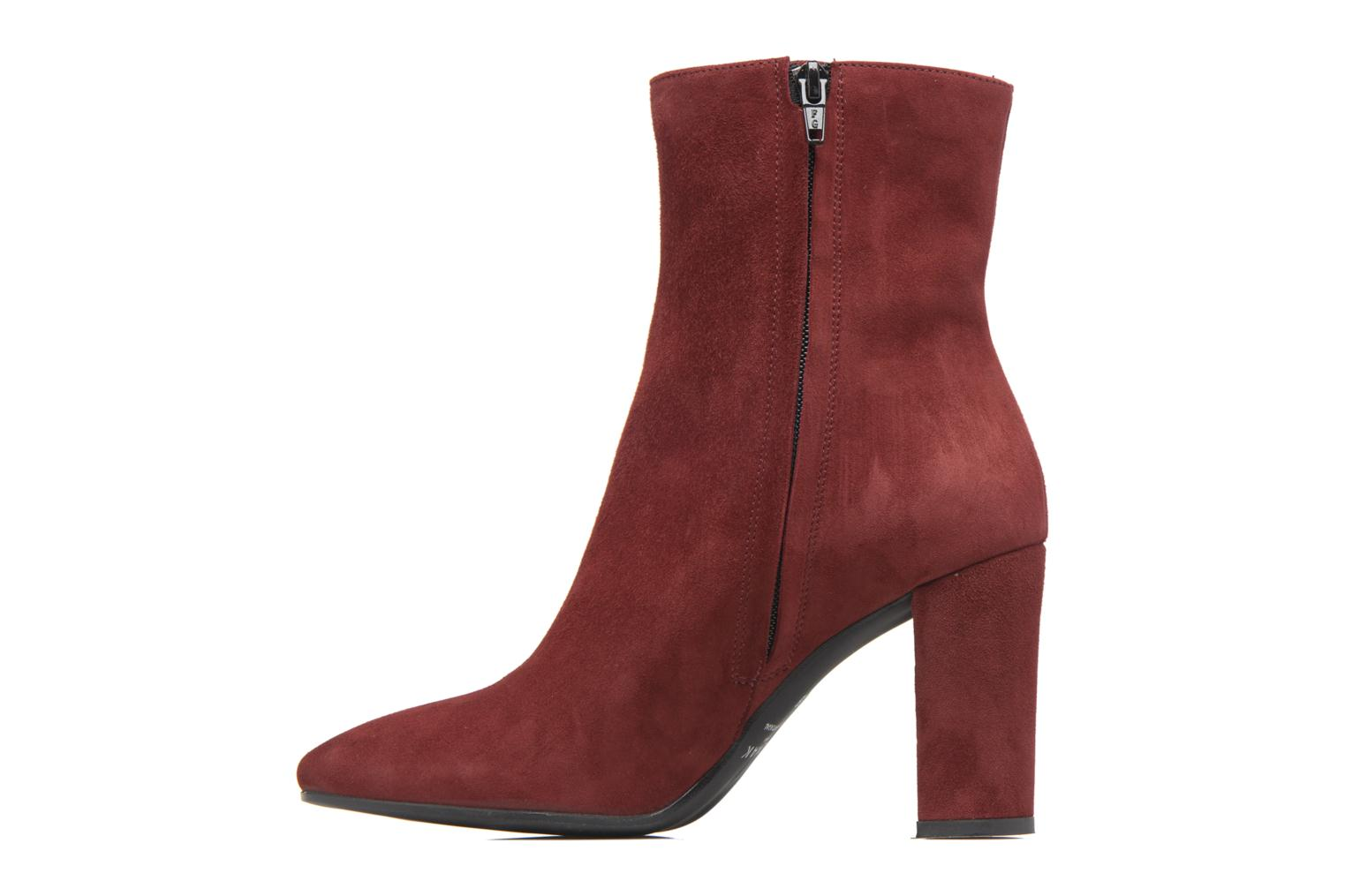 Bottines et boots Jonak Vraca Bordeaux vue face