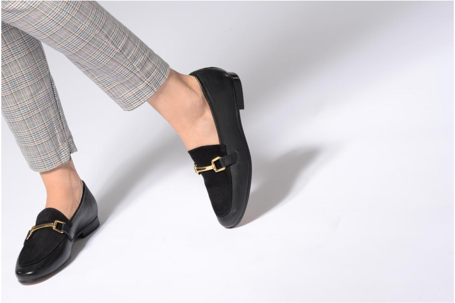 Loafers Jonak Sempré Black view from underneath / model view