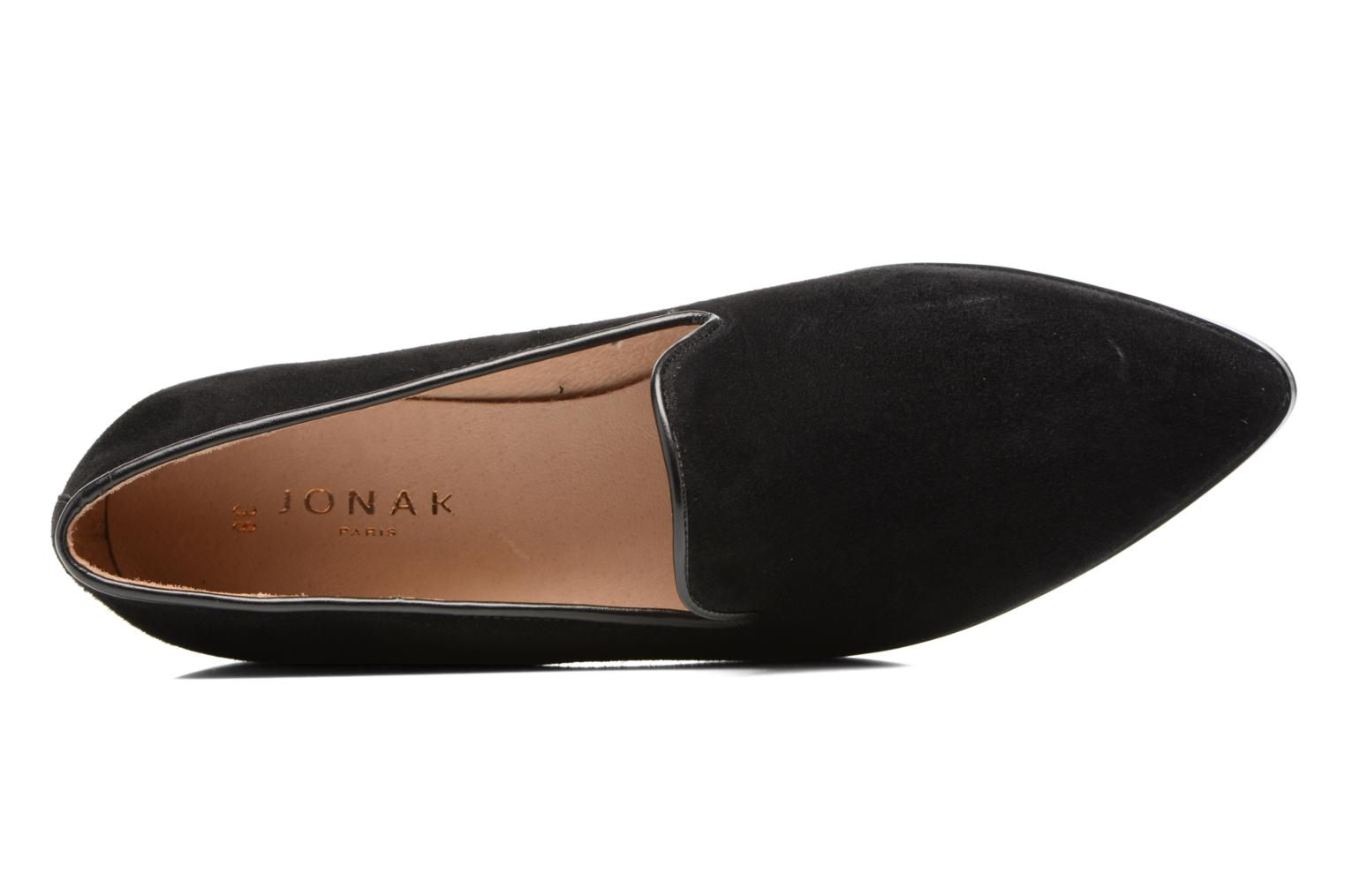 Loafers Jonak Aurore Black view from the left