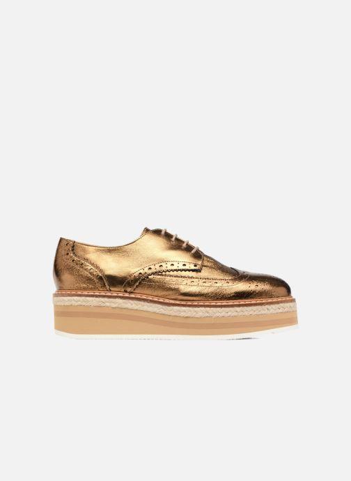 Zapatos con cordones Jonak Allo Oro y bronce vistra trasera