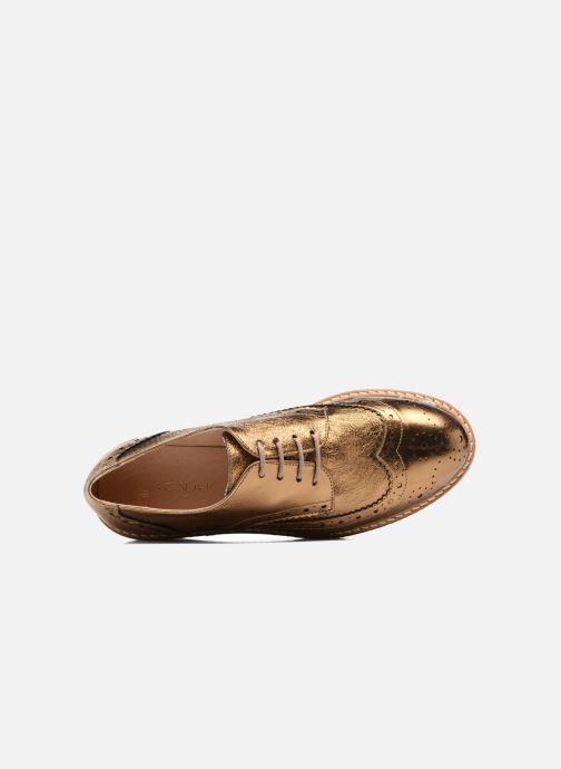 Zapatos con cordones Jonak Allo Oro y bronce vista lateral izquierda