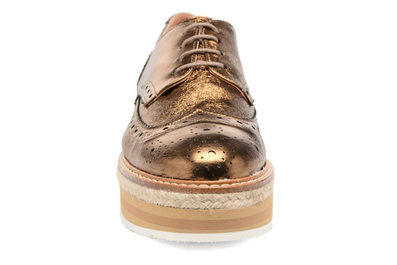 Chaussures à lacets Jonak Allo Or et bronze vue portées chaussures