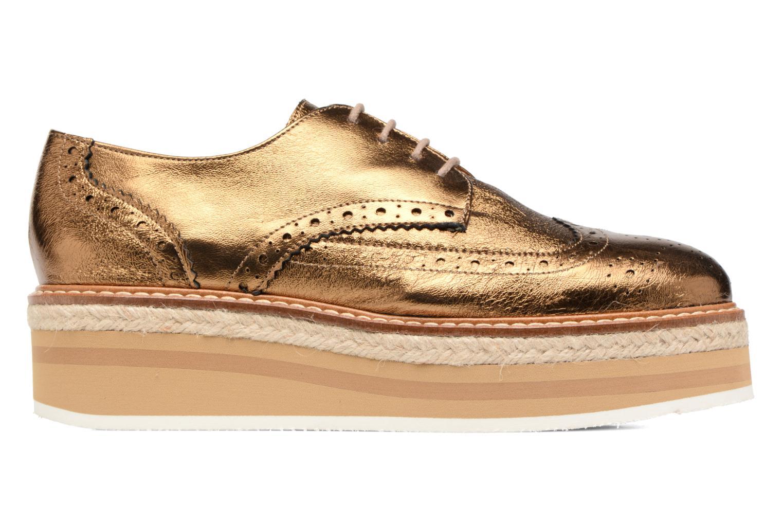Chaussures à lacets Jonak Allo Or et bronze vue derrière