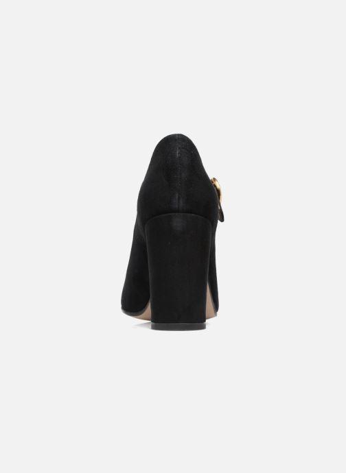 Zapatos de tacón Jonak 11649 Negro vista lateral derecha