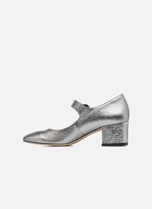 Zapatos de tacón Jonak Viva Plateado vista de frente