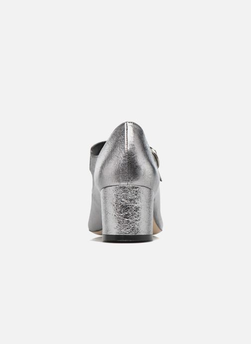 Zapatos de tacón Jonak Viva Plateado vista lateral derecha