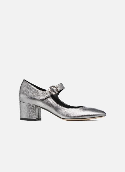 Zapatos de tacón Jonak Viva Plateado vistra trasera
