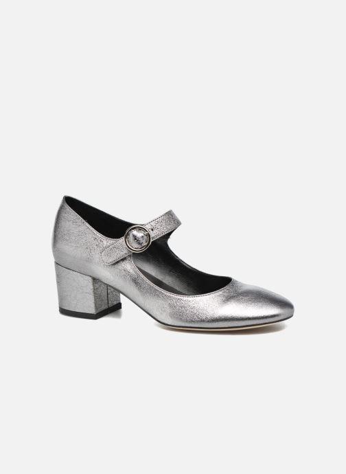Zapatos de tacón Jonak Viva Plateado vista de detalle / par