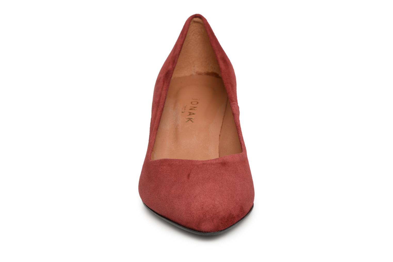Escarpins Jonak Dorita Rouge vue portées chaussures