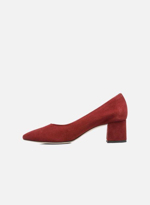 High heels Jonak Aura Burgundy front view