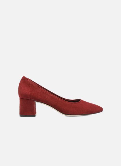High heels Jonak Aura Burgundy back view