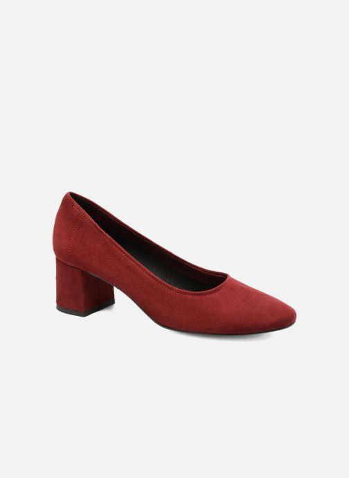 High heels Jonak Aura Burgundy detailed view/ Pair view