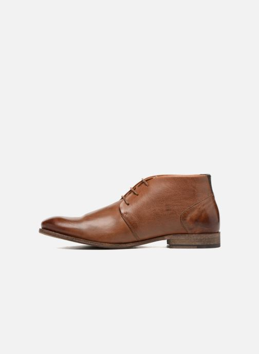 Lace-up shoes Kost Sarre 1 Brown front view