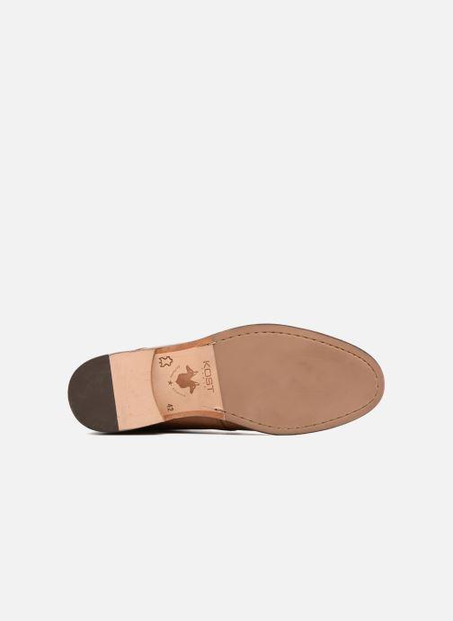 Chaussures à lacets Kost Sarre 1 Marron vue haut