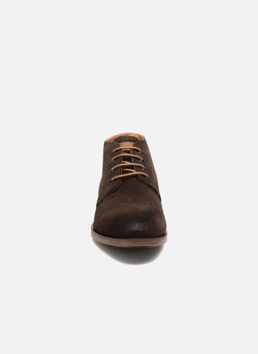 Chaussures à lacets Kost Ferrand 5V1 Marron vue portées chaussures