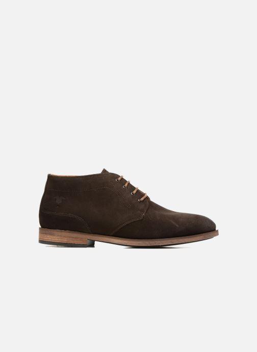 Chaussures à lacets Kost Ferrand 5V1 Marron vue derrière