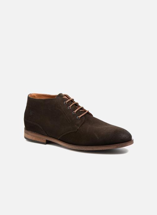 Zapatos con cordones Kost Ferrand 5V1 Marrón vista de detalle / par
