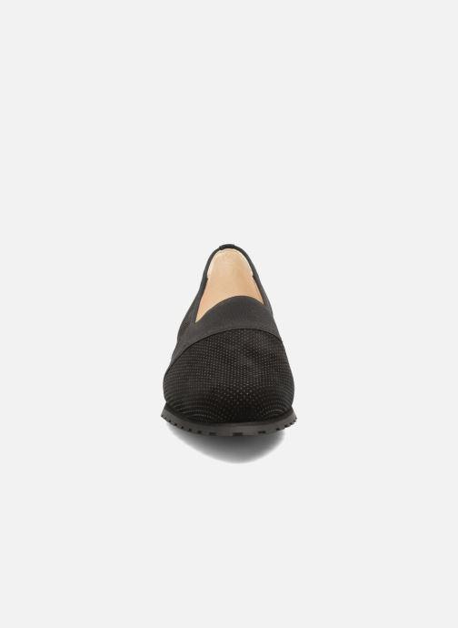Mocassins Hassia Philippine 1654 Noir vue portées chaussures
