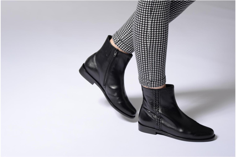 Bottines et boots Hassia Elisa 1187 Noir vue bas / vue portée sac