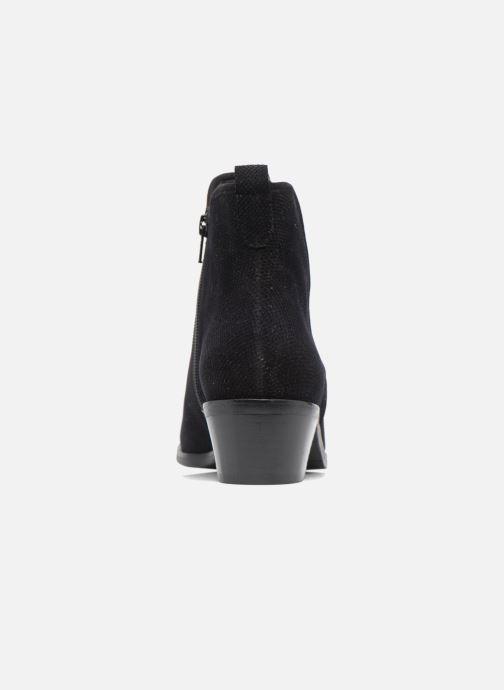 Boots en enkellaarsjes Hassia Maëlys 6754 Zwart rechts