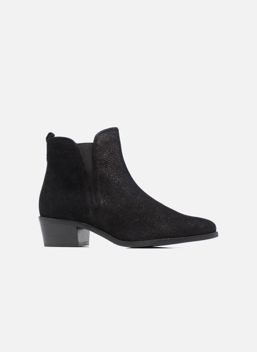 Boots en enkellaarsjes Hassia Maëlys 6754 Zwart achterkant