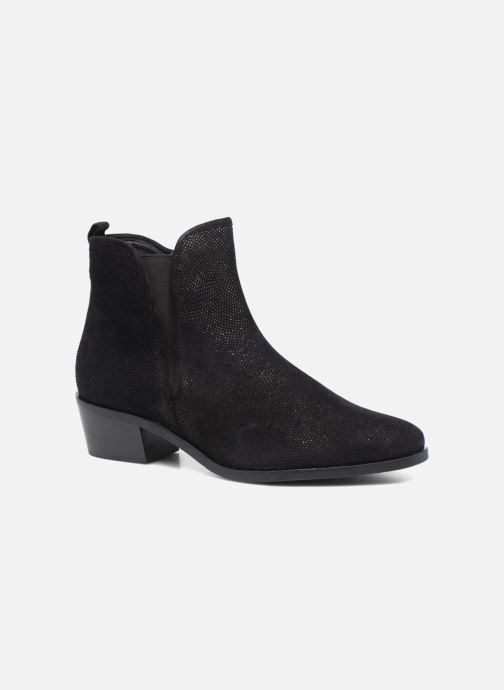Ankle boots Hassia Maëlys 6754 Black detailed view/ Pair view