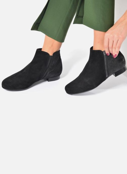 Ankle boots Hassia Célia 985 Black view from underneath / model view