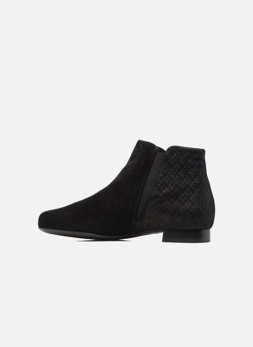 Bottines et boots Hassia Célia 985 Noir vue face
