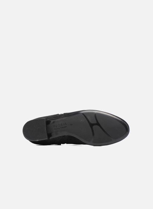 Bottines et boots Hassia Célia 985 Noir vue haut