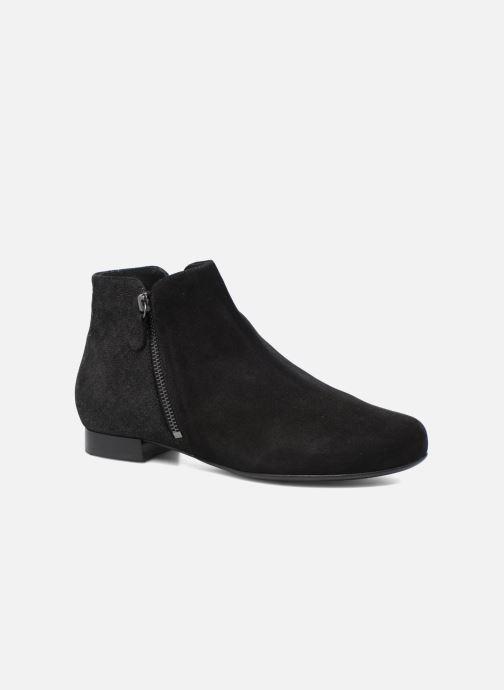 Ankle boots Hassia Célia 985 Black detailed view/ Pair view