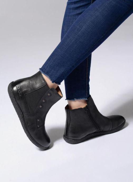 Bottines et boots Kickers HAPPLI Noir vue bas / vue portée sac