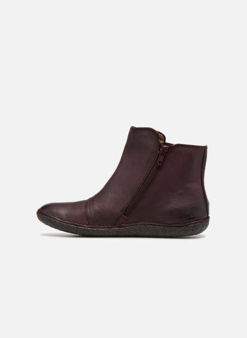 Boots Kickers HAPPLI Vinröd bild från framsidan
