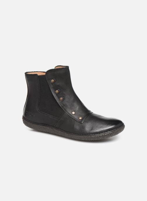 Ankelstøvler Kickers HAPPLI Sort detaljeret billede af skoene