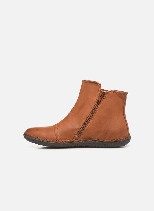 Boots en enkellaarsjes Kickers HAPPLI Bruin voorkant