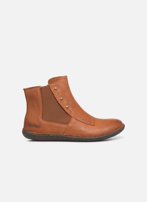 Boots en enkellaarsjes Kickers HAPPLI Bruin achterkant
