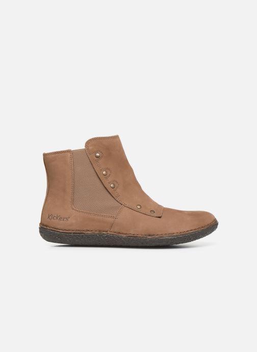 Bottines et boots Kickers HAPPLI Marron vue derrière