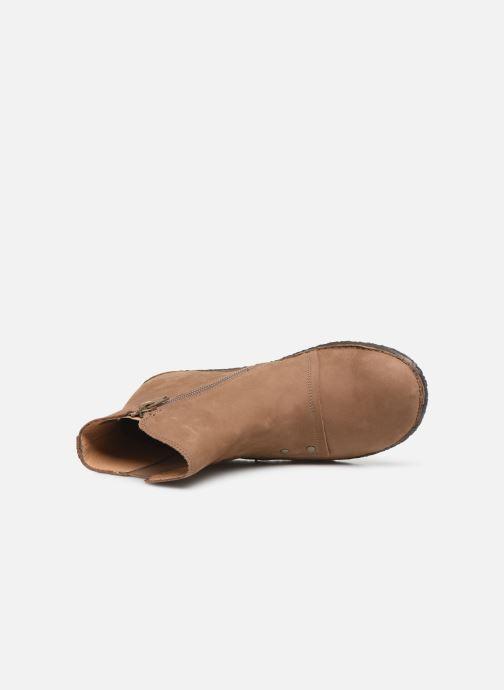 Bottines et boots Kickers HAPPLI Marron vue gauche