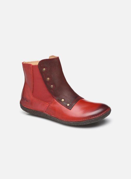 Bottines et boots Kickers HAPPLI Rouge vue détail/paire