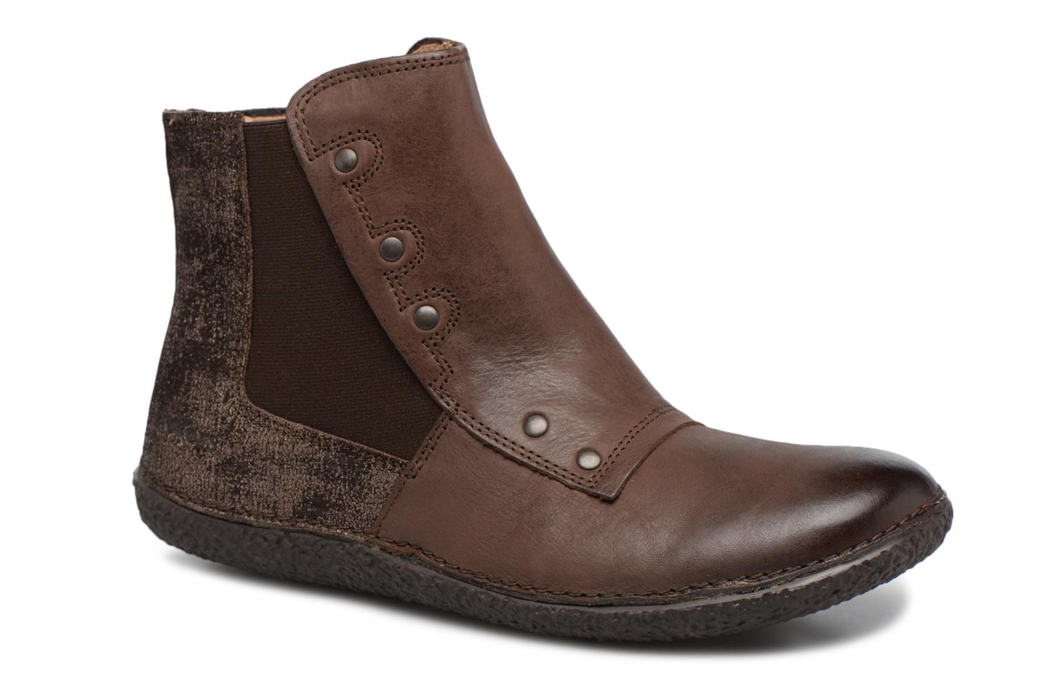 Bottines et boots Kickers HAPPLI Marron vue détail/paire