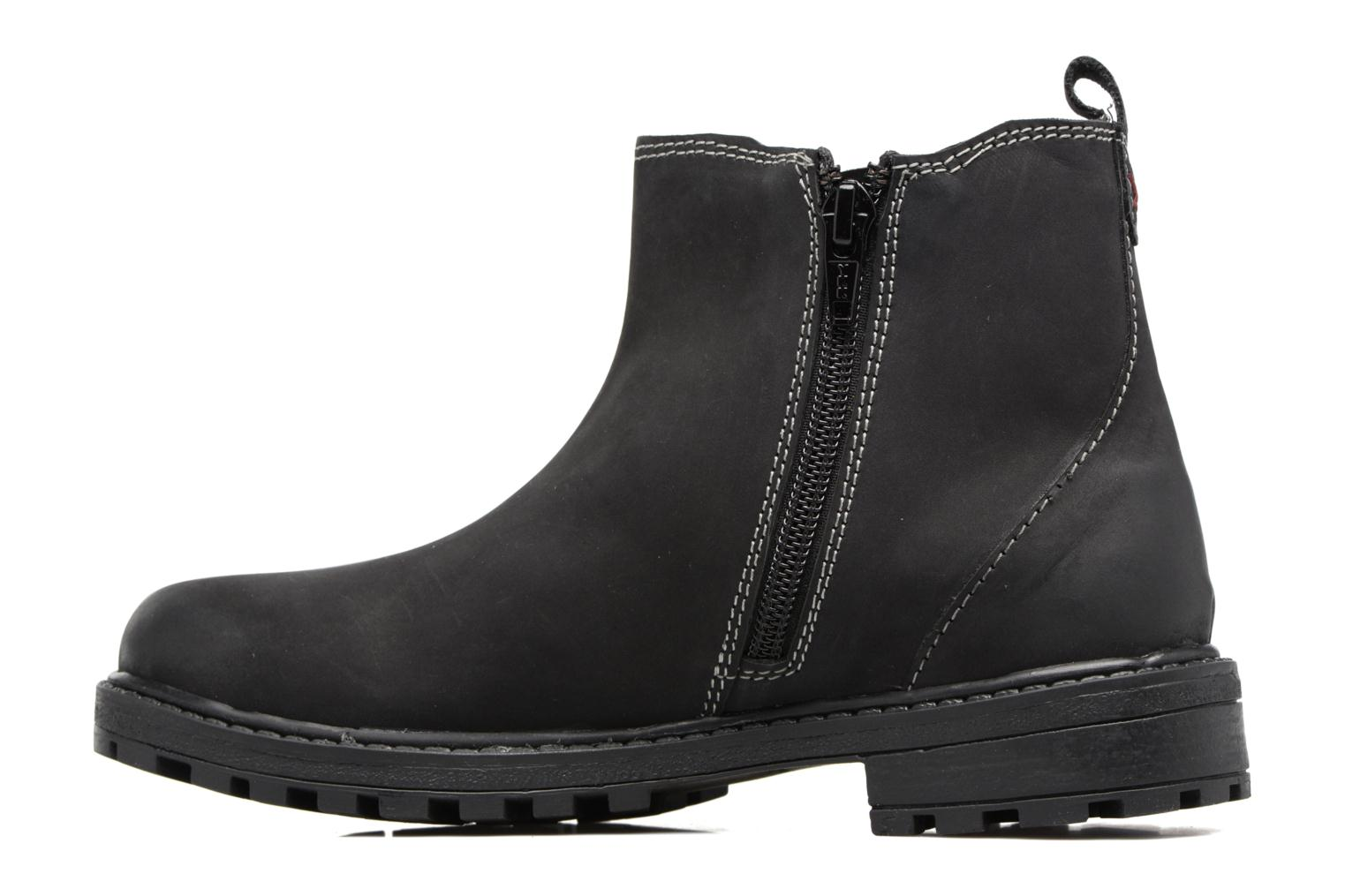 Ankle boots Gioseppo 41553 Black front view